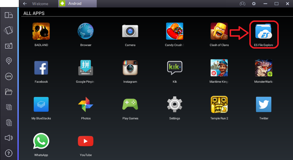 BlueStacks - download android emulator for Windows 7