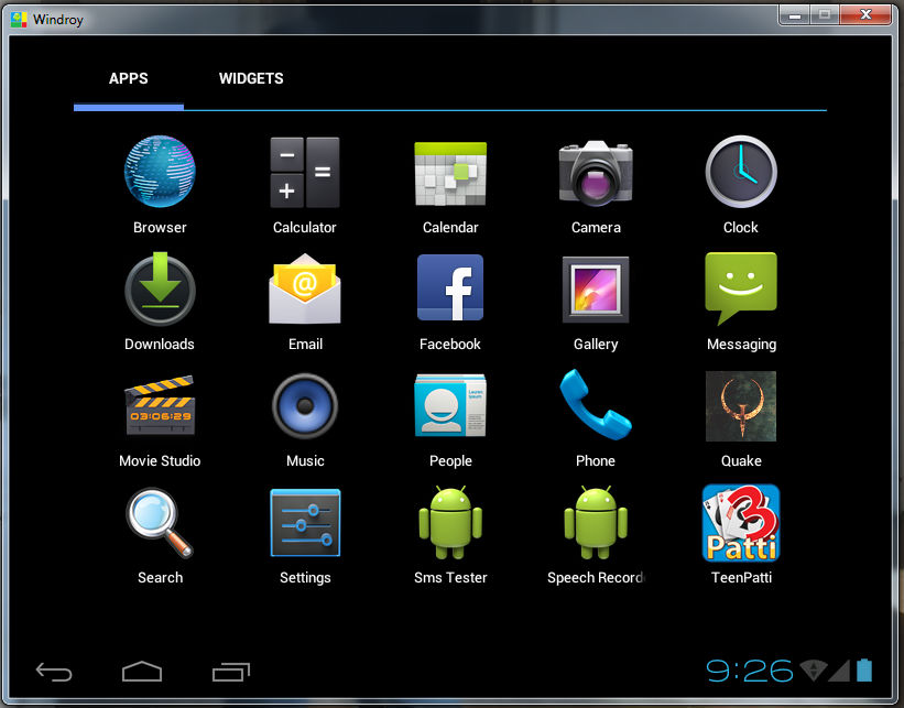 Is it possible to run Android Device Emulator (via Android ...